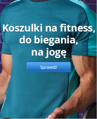 Koszulki na fitness, do biegania, na jogę