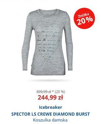 Icebreaker SPECTOR LS CREWE DIAMOND BURST