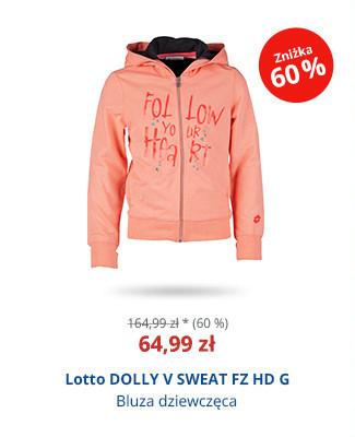 Lotto DOLLY V SWEAT FZ HD G