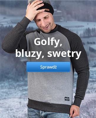 Golfy, bluzy, swetry
