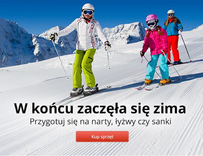 Przygotuj się na narty, łyżwy czy sanki