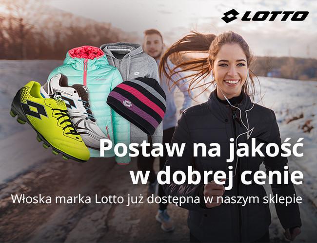 Włoska marka Lotto już dostępna w naszym sklepie
