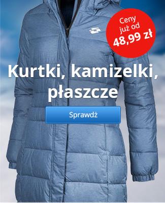 Kurtki, kamizelki, płaszcze Lotto – Ceny już od 48,99 zł