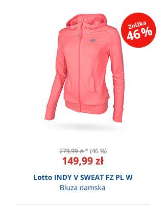Lotto INDY V SWEAT FZ PL W