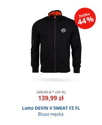 Lotto DEVIN V SWEAT FZ FL