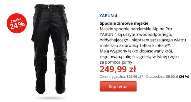 ALPINE PRO YABUN 4