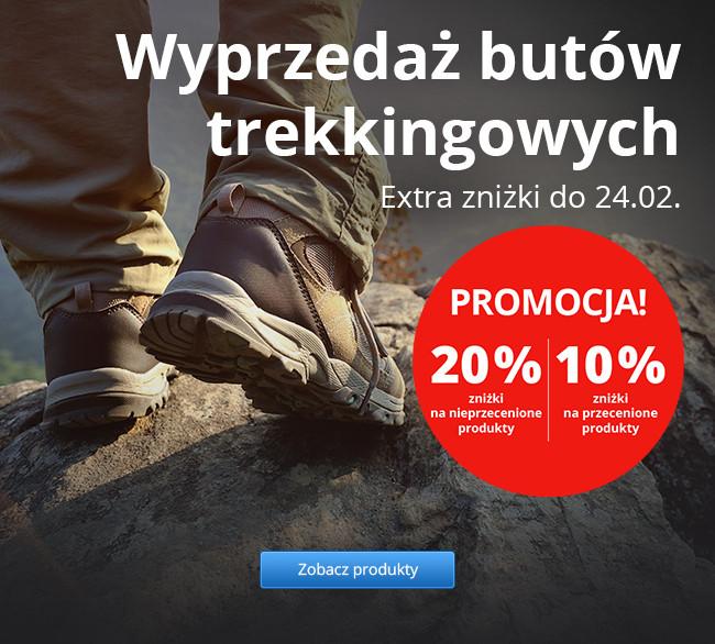 Wyprzedaż butów trekkingowych