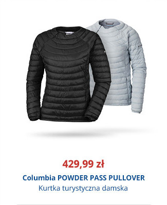 Columbia POWDER PASS PULLOVER
