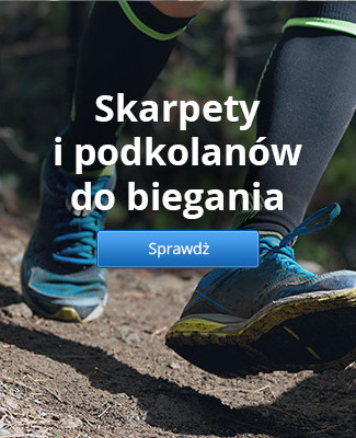 Skarpety i podkolanów do biegania