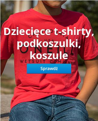 Dziecięce t-shirty, podkoszulki, koszule