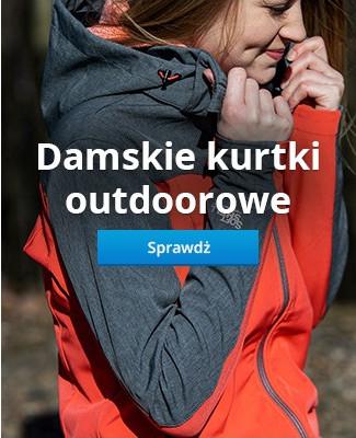 Damskie kurtki outdoorowe