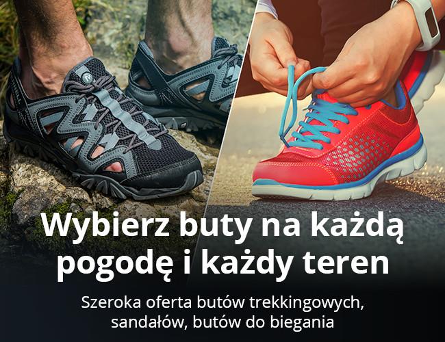 Wybierz buty na każdą pogodę i każdy teren
