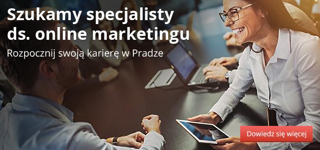 Rozpocznij swoją karierę w Pradze – Szukamy specjalisty ds. online marketingu