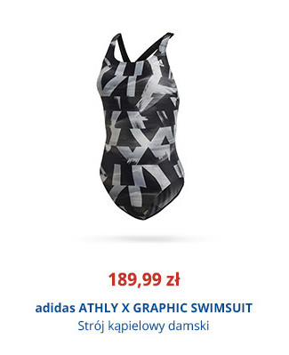 adidas ATHLY X GRAPHIC SWIMSUIT