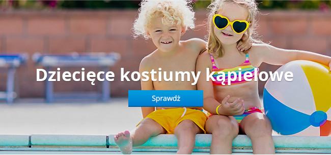 Dziecięce kostiumy kąpielowe