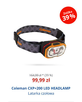 Coleman CXP+200 LED HEADLAMP