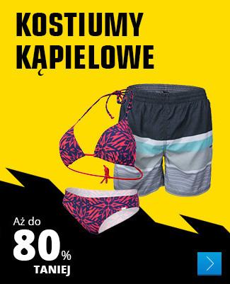 Kostiumy kąpielowe – Aż do 80% TANIEJ