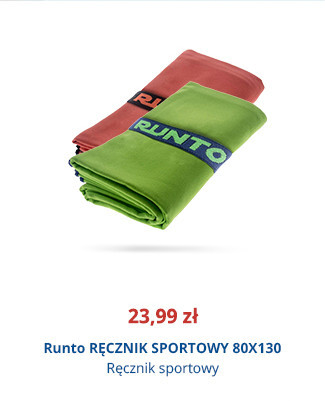 Runto RĘCZNIK SPORTOWY 80×130