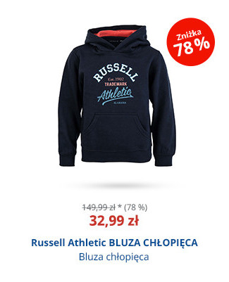Russell Athletic BLUZA CHŁOPIĘCA