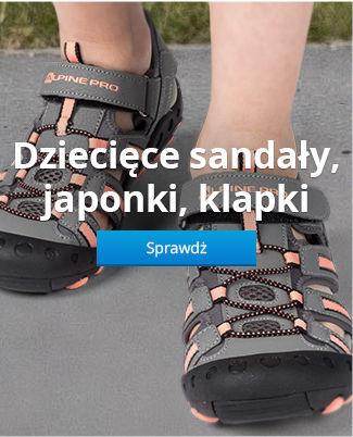 Dziecięce sandały, japonki, klapki