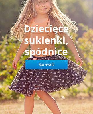 Dziecięce sukienki, spódnice