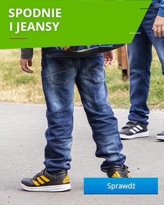 Spodnie i jeansy