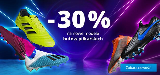 Nowe modele butów piłkarskich