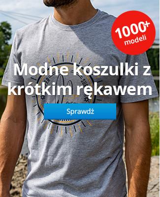 Modne koszulki z krótkim rękawem