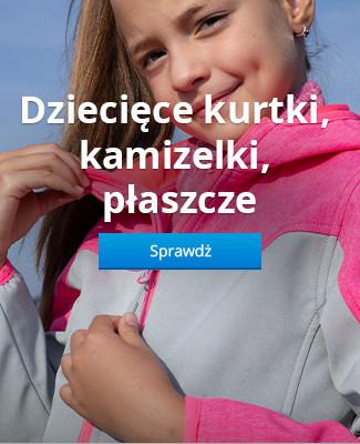 Dziecięce kurtki, kamizelki, płaszcze