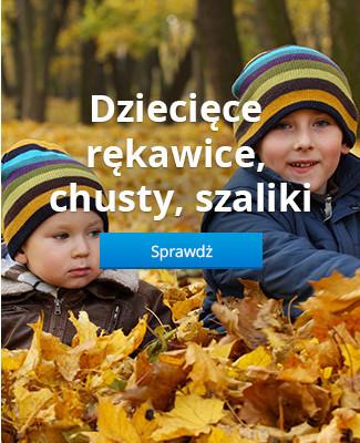 Dziecięce rękawice, chusty, szaliki