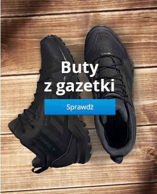 Buty z gazetki