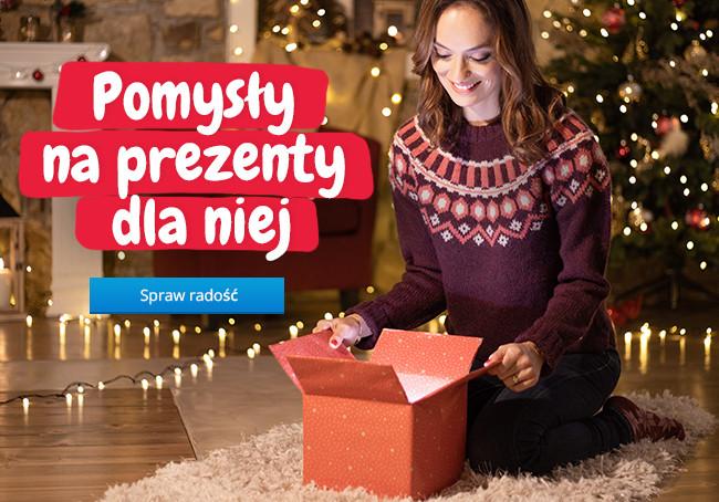 Pomysły na prezenty dla niej