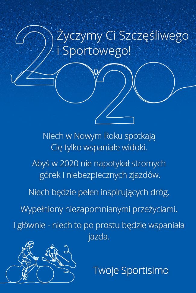 Szczęśliwego i sportowego 2020 roku