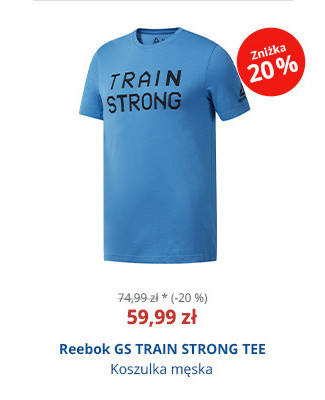 Reebok GS TRAIN STRONG TEE