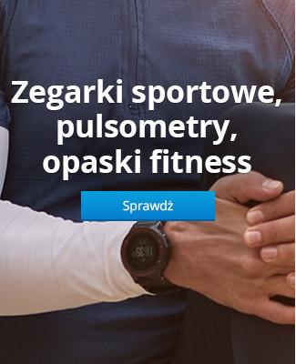 Zegarki sportowe, pulsometry, opaski fitness