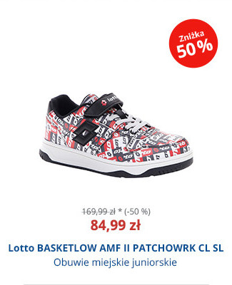 Lotto BASKETLOW AMF II PATCHOWRK CL SL