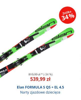 Elan FORMULA S QS + EL 4.5