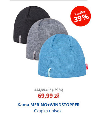 Kama MERINO+WINDSTOPPER