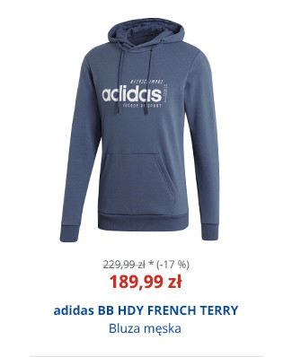 adidas BB HDY FRENCH TERRY