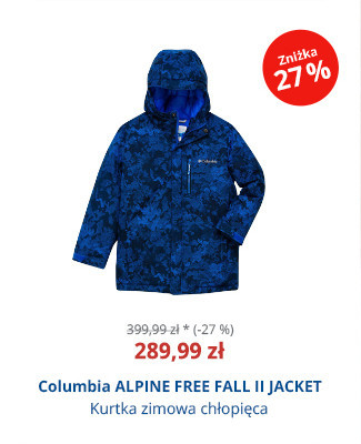 Columbia ALPINE FREE FALL II JACKET