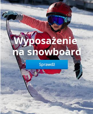 Wyposażenie na snowboard