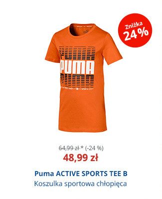 Puma ACTIVE SPORTS TEE B