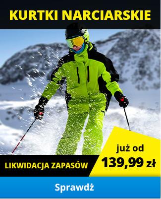 Kurtki narciarskie - likwidacja zapasów