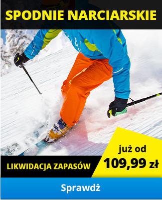 Spodnie narciarskie - likwidacja zapasów