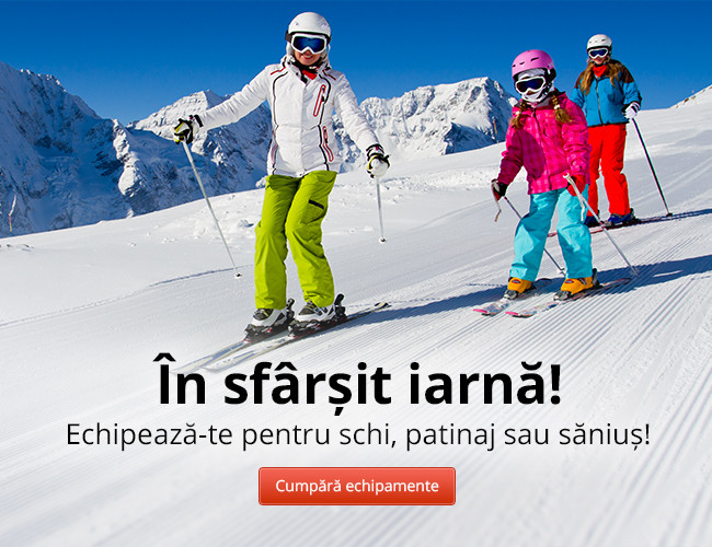 Echipează-te pentru schi, patinaj sau săniuș!