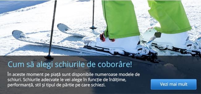 Cum să alegi schiurile de coborâre!