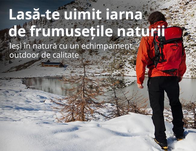 Ieși în natură cu un echimpament outdoor de calitate