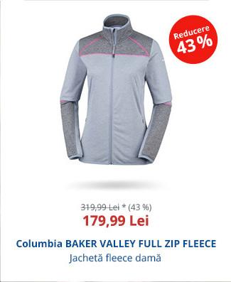 Columbia BAKER VALLEY FULL ZIP FLEECE