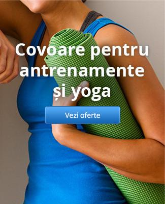 Covoare pentru antrenamente și yoga