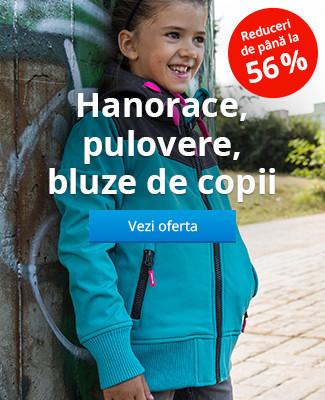 Hanorace, pulovere, bluze de copii – Reduceri de până la 56 %